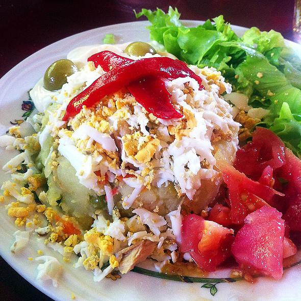 Russian Salad @ Asador Mendipe Jatexea