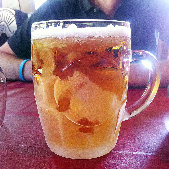 Pint Of Beer @ Asador Mendipe Jatexea