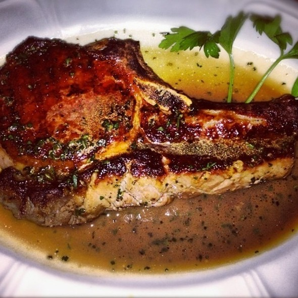 Double Bone Berkshire Pork Chop @ Bavette's Bar and Boeuf