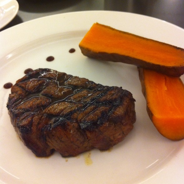 Beef And Sweet Potatoes @ The Butcher Shop & Grill