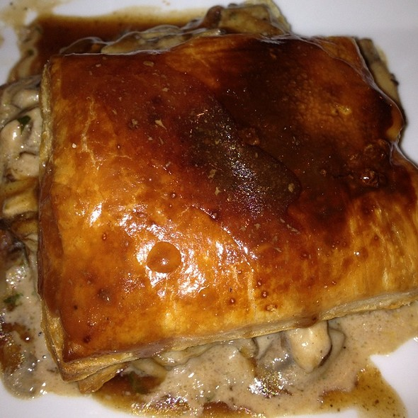Duxelle Mushrooms In Puff Pastry @ Serge Bistro