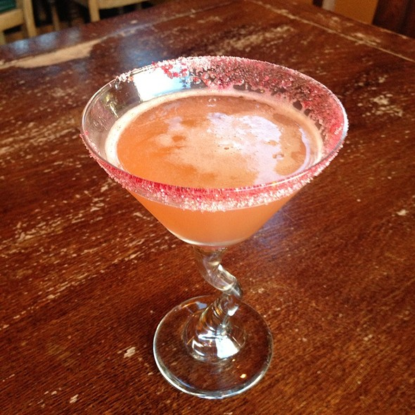 Grapefruit Martini @ Lampliter Gallery Cafe