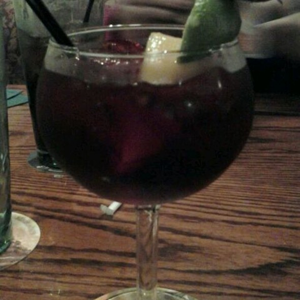 Triple Berry Sangria At Olive Garden