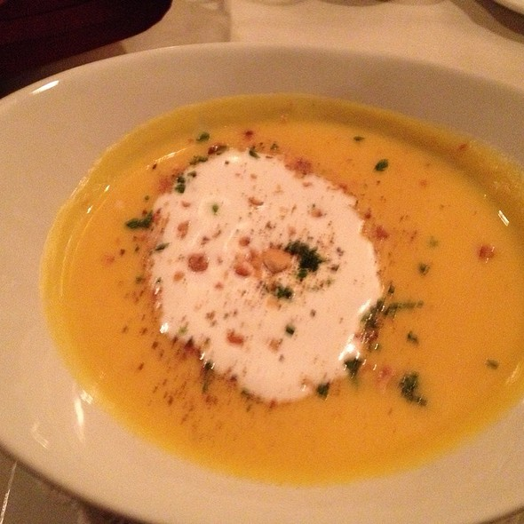 Butternut Squash Soup - La Voile, Boston, MA