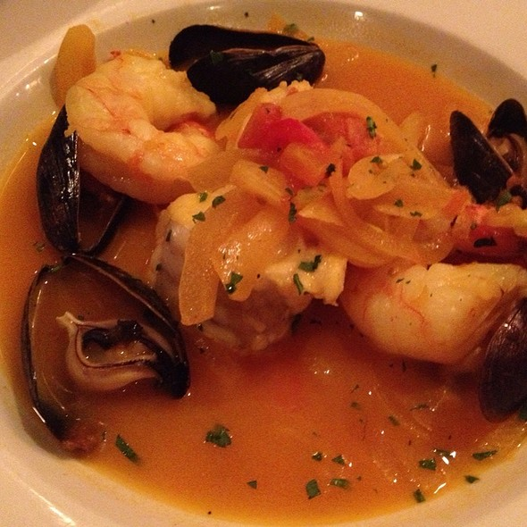 Haddock With Shrimp And Mussels - La Voile, Boston, MA