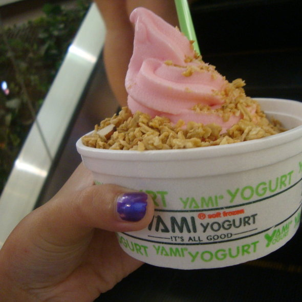 Frozen Yogurt @ Yami Yogurt