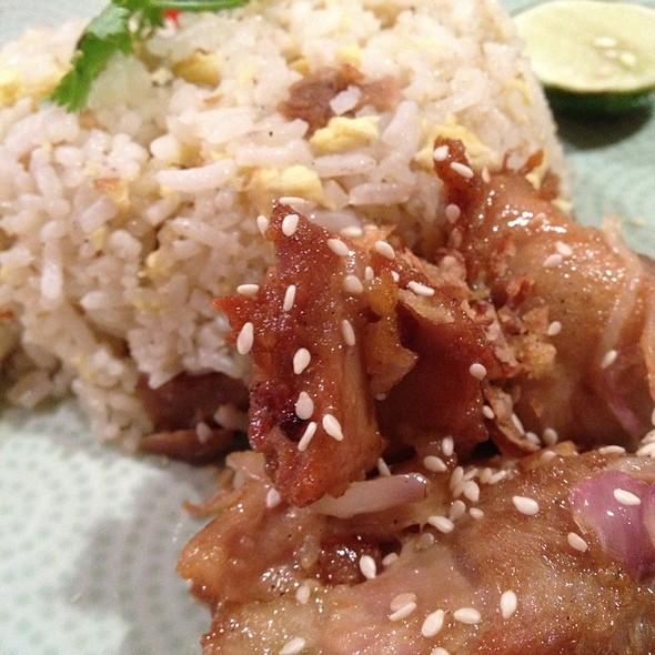 Honey Chicken Shrimp Paste Rice @ Thai Express (Raffles City Shopping Centre)