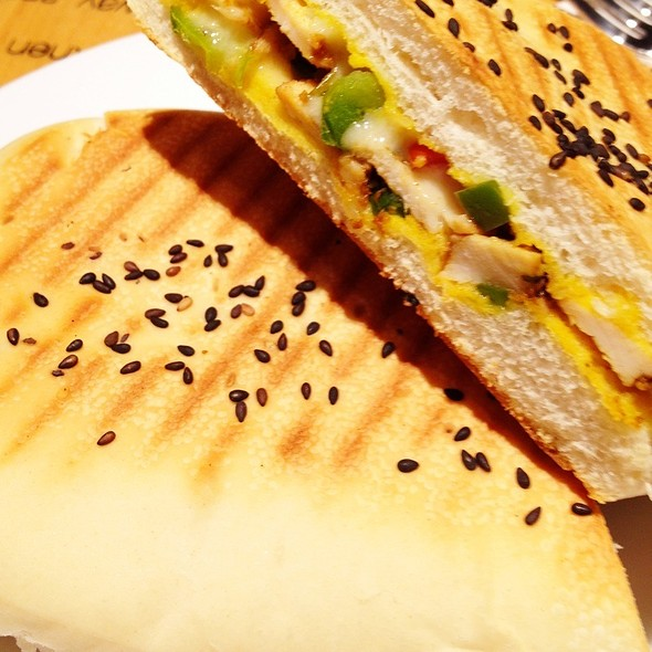 Chicken Fajita Panini @ dr. CAFE Coffee