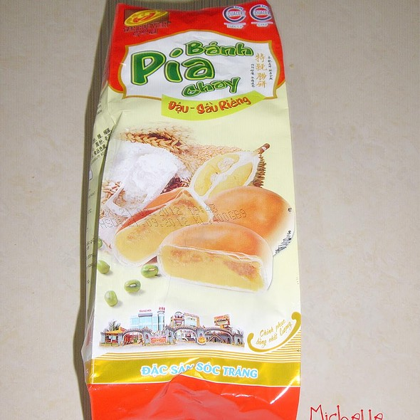 Mung Bean Durian Pia @ Home