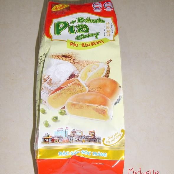 Mung Bean Durian Pia @ Home