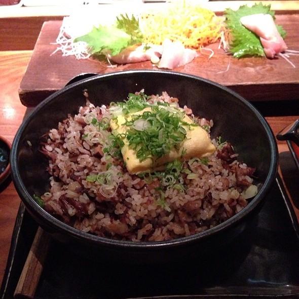 Bone Marrow Fried Rice @ Blue Ribbon Sushi Bar & Grill