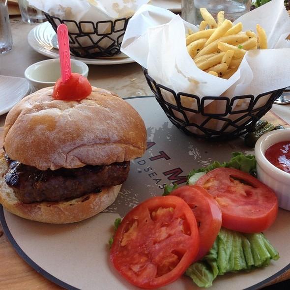 Morrocan Spiced Lamb Burger - Great Maple - Fashion Island, Newport Beach, CA