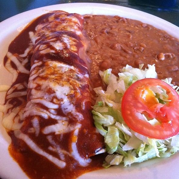 Smoked Pork Enchilada @ Esparza's Tex Mex Cafe
