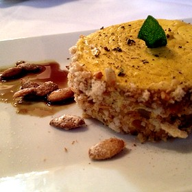Savory Pumpkin Cheesecake With Pumpkin Seed Crust - The Elkridge Furnace Inn, Elkridge, MD