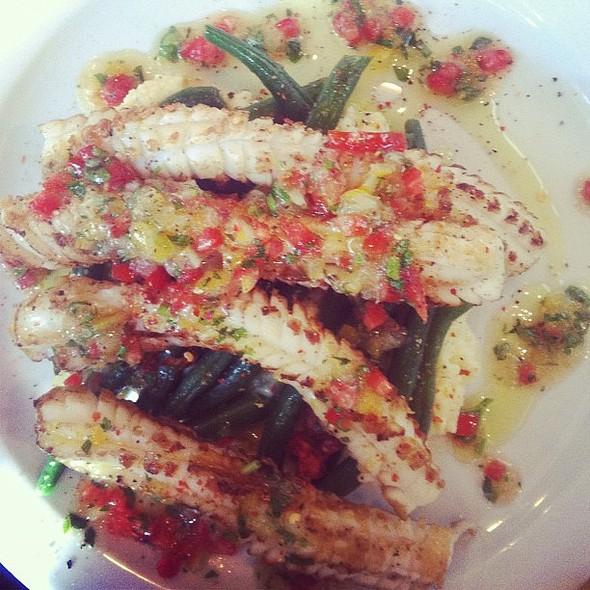 Grilled Calamari @ Restaurant Mile-Ex