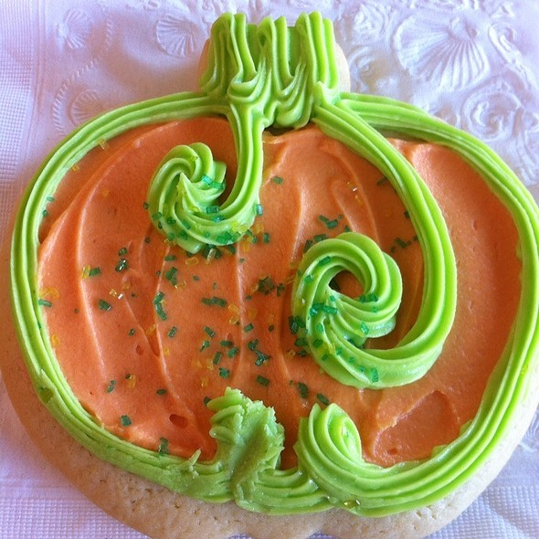 Decorated Sugar Cookies @ Jammin' Bread