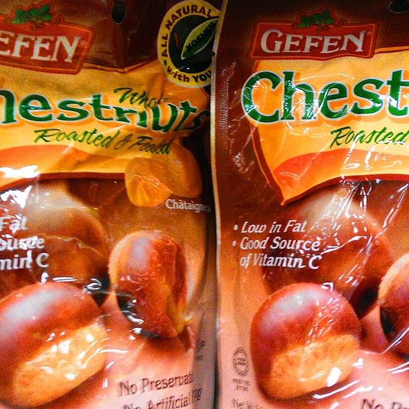 Gefen Whole Chestnuts