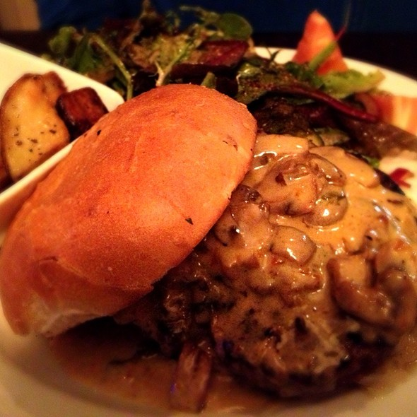 Mushroom burger @ Terrazza