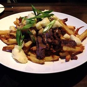 Sirloin Tip Poutine - Hush Restaurant & Bar, Toronto, ON
