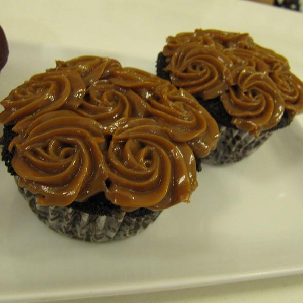 Choco Yema Cupcake @ Slice Cafe