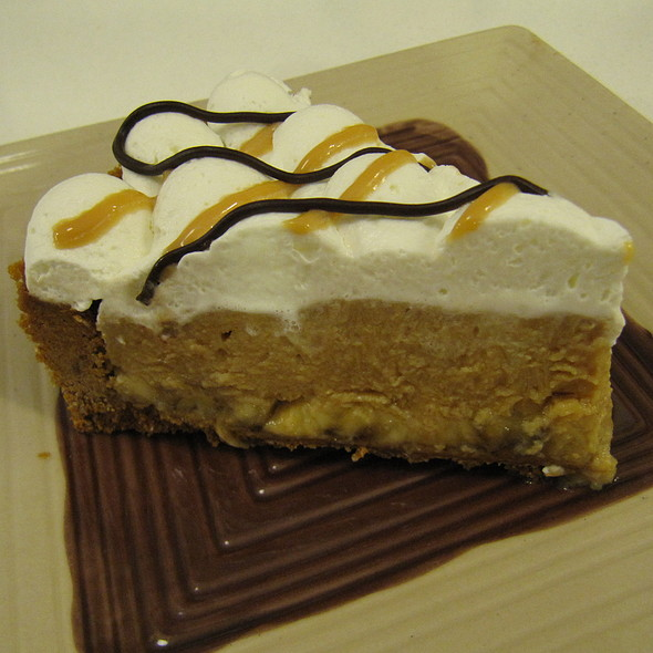 Banana Cream Pie @ Slice Cafe