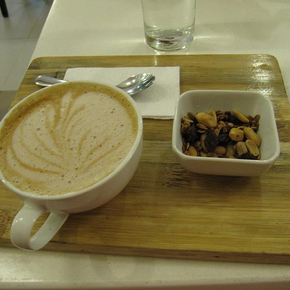 Latte @ Slice Cafe