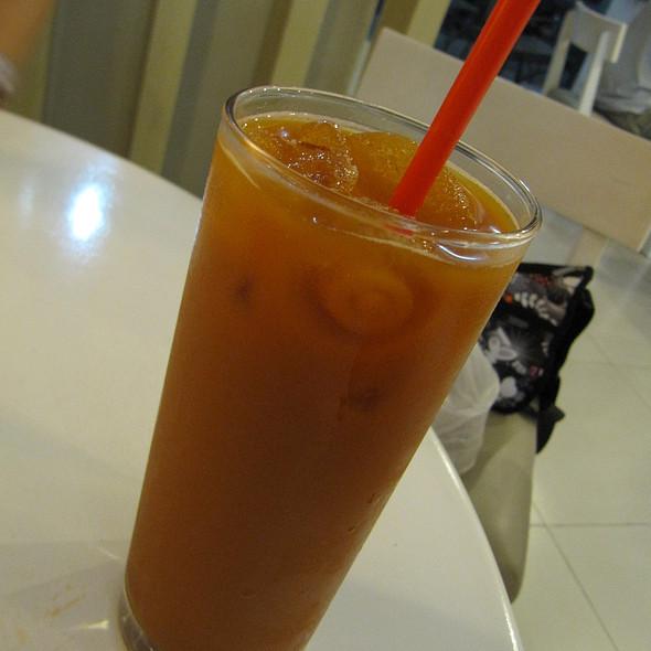 Thai Iced Tea @ Heavenly Desserts Puerto Princesa
