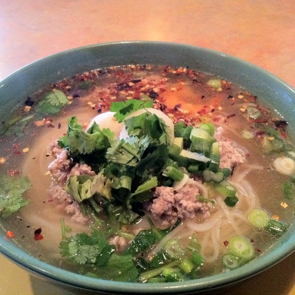 Tom Yum Soup Noodles @ Rachada Thai Cuisine