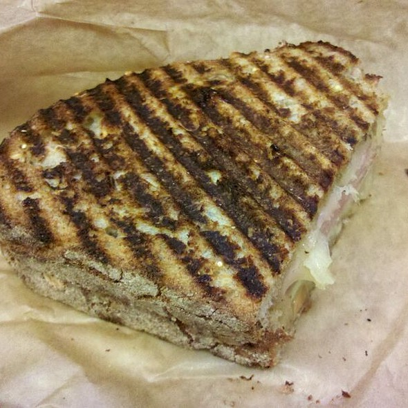 Ham And Cheddar Panini @ The Works Bakery Cafe