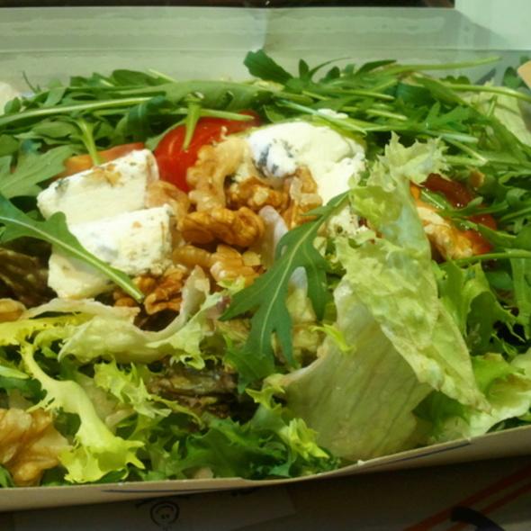 Ziegenkäse - Nuss Salade @ my indigo