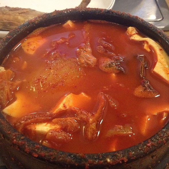 Kimchi Jjigae @ Tofu Village