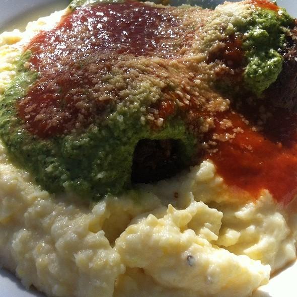 Cheesy Polenta With Vegan Balls @ 24th & Meatballs