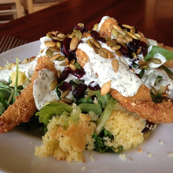 Fried Chicken Salad @ Tupelo Junction Cafe