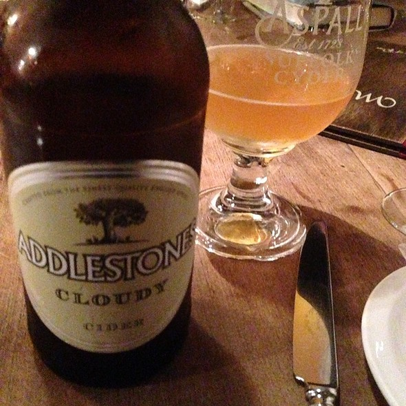 Addlestones Cloudy Cider @ Pipe of Port