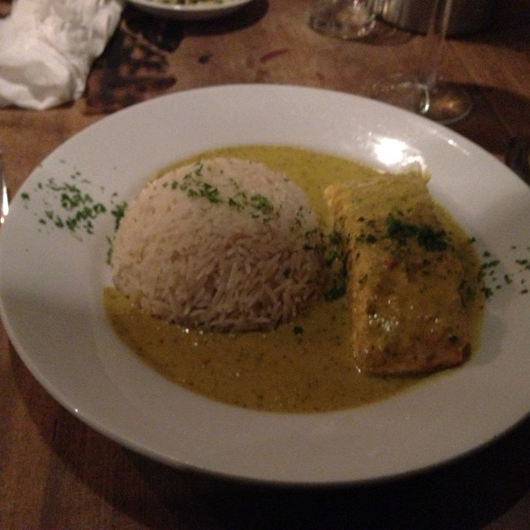 Curried Salmon With Rice @ Pipe of Port