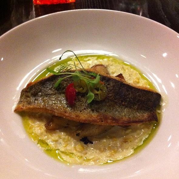Crispy Skin Rushing Waters Rainbow Trout - The Root Restaurant & Bar, White Lake, MI