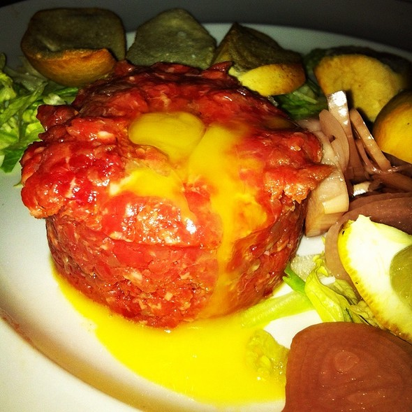 Steak Tartare With Quail Egg - Rye and Thyme, Leominster, MA