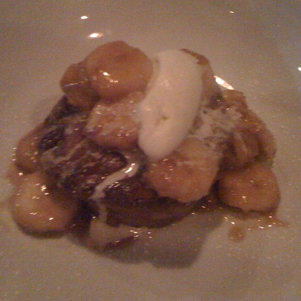 Bananas Foster Bread Pudding - Epicurean Cafe, Duluth, GA