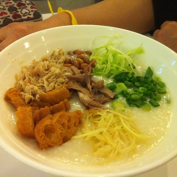 Seafood Congee With Shredded Duck Meat @ room 18 拾八风味