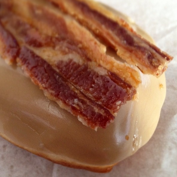 Maple-Bacon Donut @ Dizzy's Doughnuts