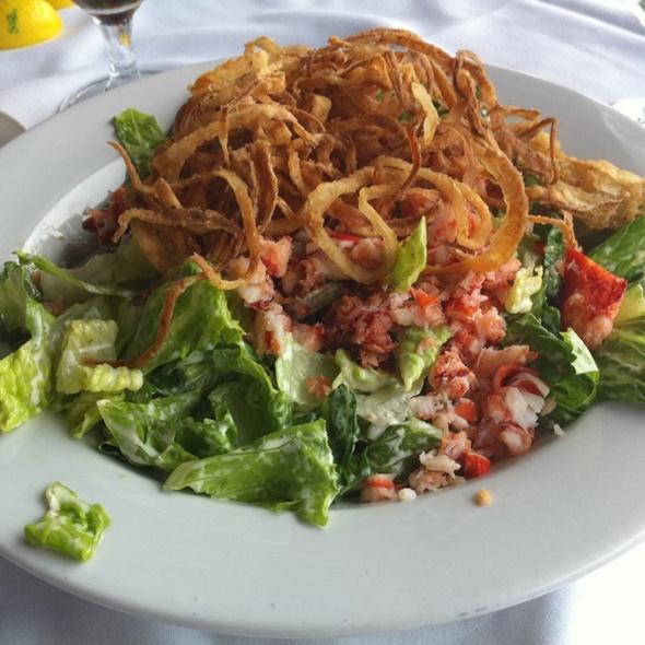 Lobster Cobb Salad - Sunset Terrace - Omni Grove Park Inn, Asheville, NC