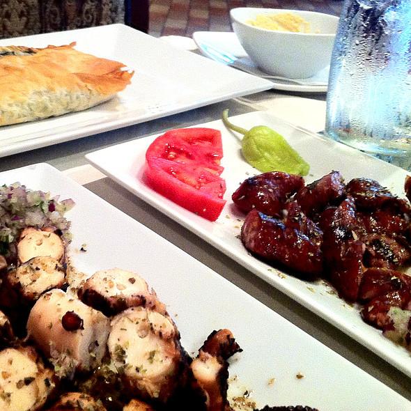 Grilled Octopus @ Greek Bistro