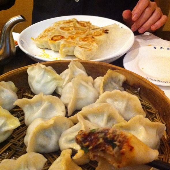 Dill And Cabbage Dumplings @ Qing Hua Dumplings