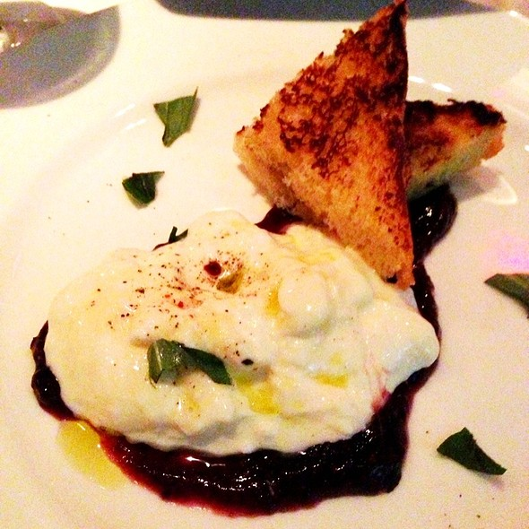 Burrata - The Crosby Bar, New York, NY