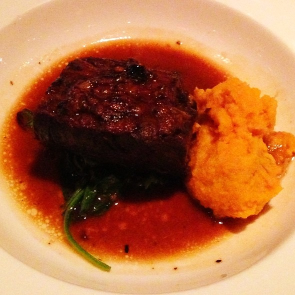 Braised Short Ribs - The Crosby Bar, New York, NY