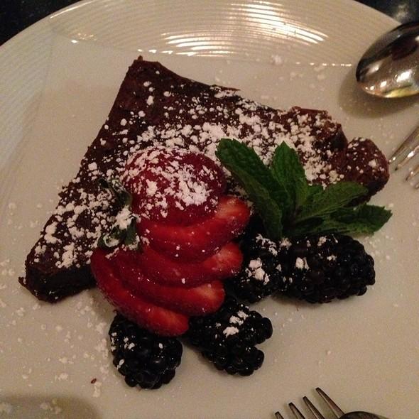 flourless chocolate cake - Café Sebastienne, Kansas City, MO