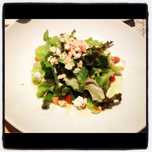 Nut And Cheese Salad @ RBSC Polo Club