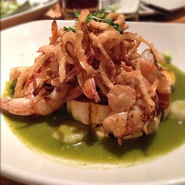 Camarones with green mole sauce @ Frontera Grill & Topolobampo