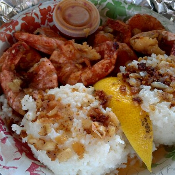 Shrimp Plate @ Giovanni's Shrimp Truck