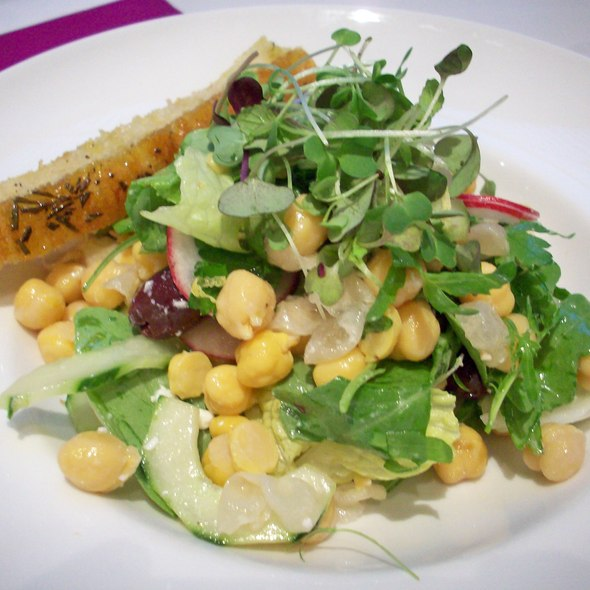 Chick Pea Salad @ Museum of Modern Art (MoMA)